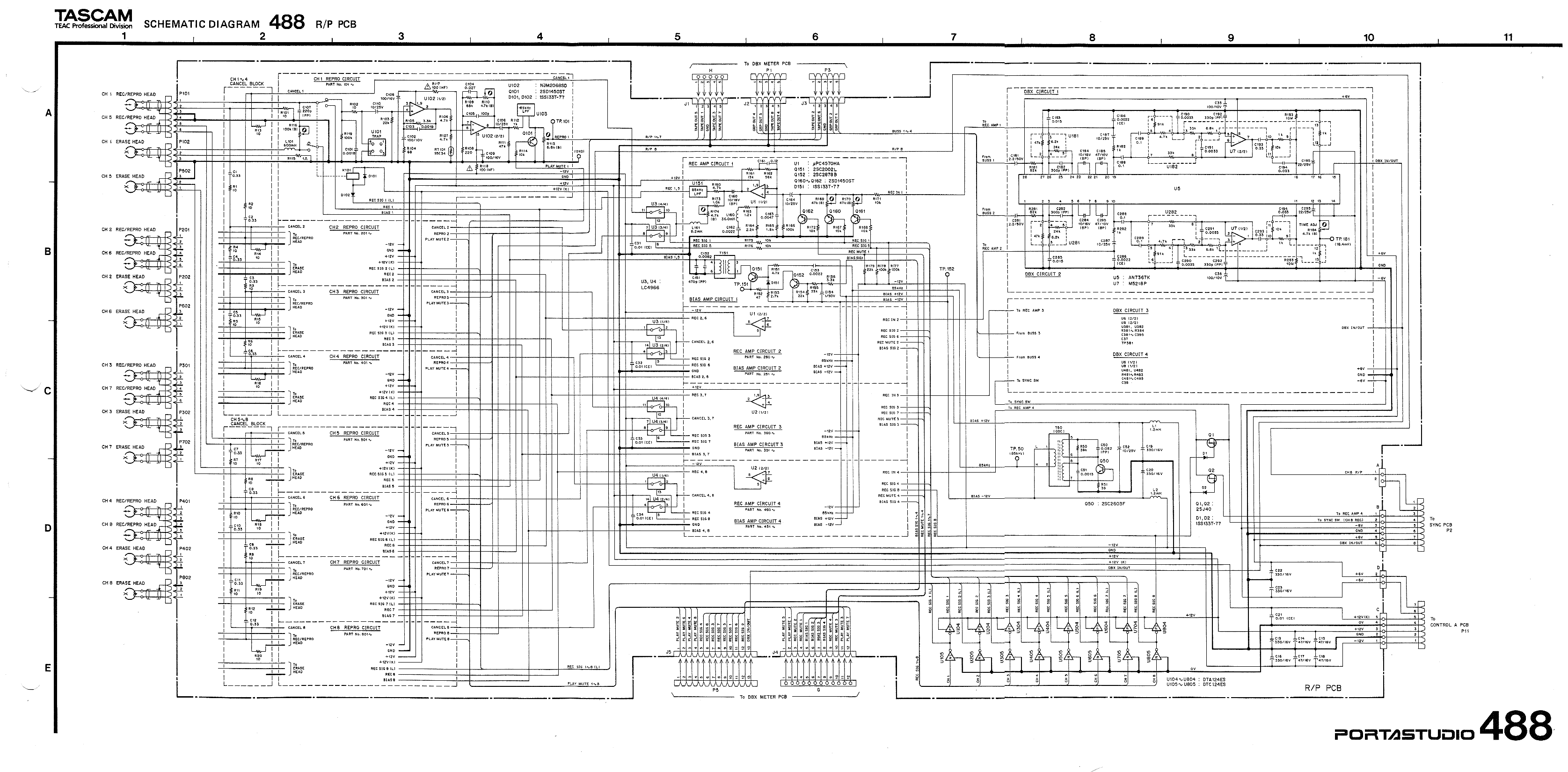 tascam wire diagram wiring library rh 9 codingcommunity de Electrical Wiring Diagrams for Cars Business Wire Diagram